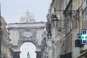 The capital city of Lisbon bustles with shops and tours.
