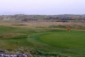 Connemara Golf Links in Ireland's northwest features uniquely rocky terrain.