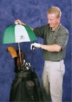 There's more you can do besides buying an umbrella to cope with unfavorable playing conditions