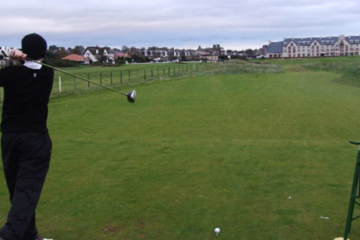 You can still have a good experience at legendary links like Carnoustie in the off-season.