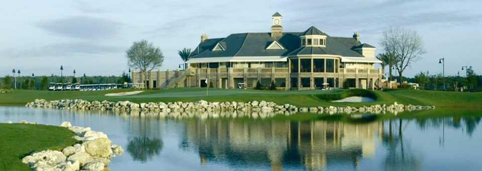Eagle Creek GC: Clubhouse