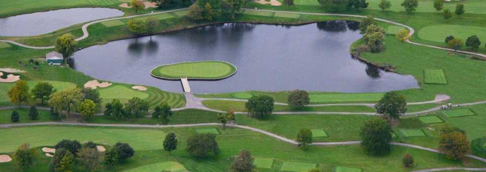 Blackhawk Trace Golf Club at Indian Lakes Resort: Aerial