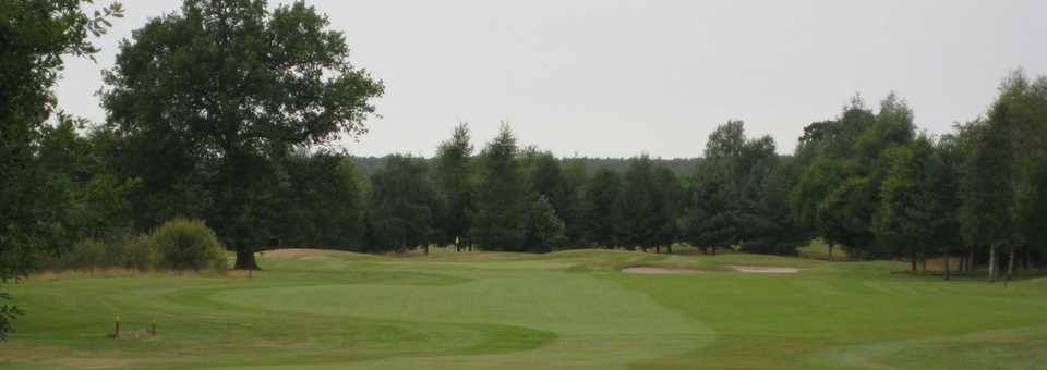 1st fairway at Vale Royal Abbey