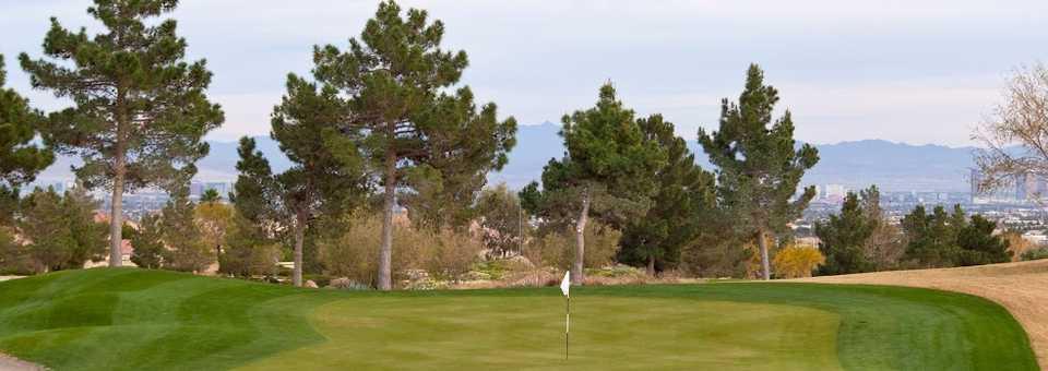 Golf Summerlin - Eagle Crest: #18