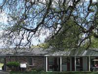 Churn Creek GC: clubhouse