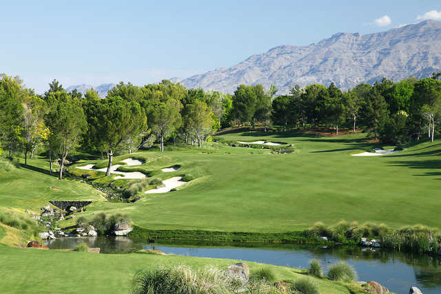 Shadow Creek Golf Course In North Las Vegas Nevada Usa