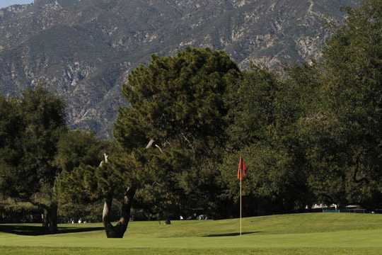 Santa Anita Golf Course In Arcadia California Usa Golf