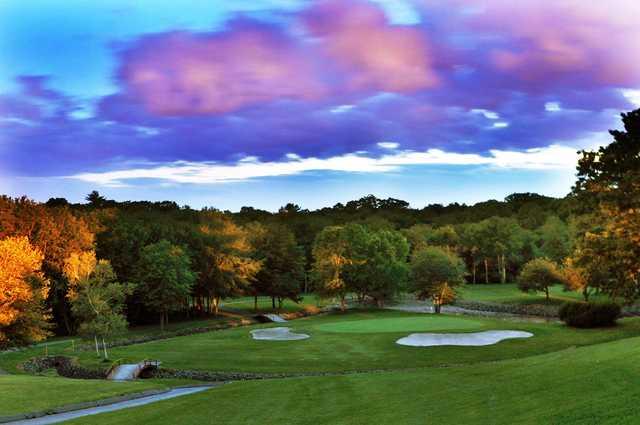 Chemawa Golf Course in North Attleboro, Massachusetts, USA