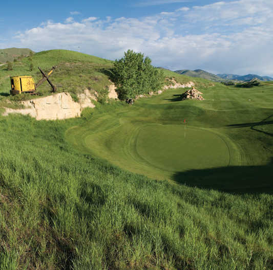 Fossil Trace Golf Club In Golden, Colorado, USA