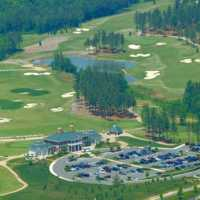Independence GC: Aerial view