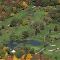 Woodruff GC: fall aerial view