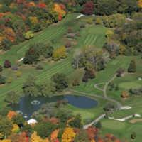 Woodruff GC: fall aerial view