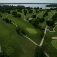 Majestic Oaks at Lake Lawn Resort: Aerial view