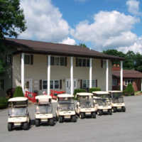 Oakbrook GC: clubhouse