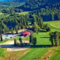 Priest Lake GC: Aerial view