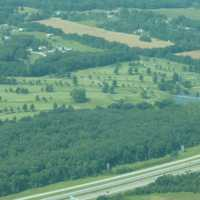 Country Lake GC: Aerial view