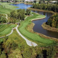 Lakes of Taylor GC: Aerial view