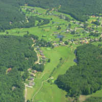 White Plains GC: Aerial view