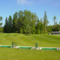 Drayton Valley GC: Driving range