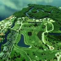 Riverbend GC: Aerial view