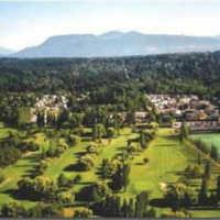 Musqueam GC: Aerial view