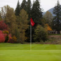 Autumn colors at The Courses at The Resort at the Mountain