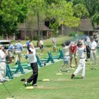 The Highlands GC: Driving range