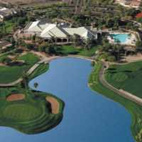 Tuscany Falls CC: clubhouse & swimming pool