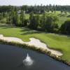 Aerial view from Golf Club at Ballantyne