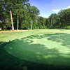 A view of green #7 at Ledges Golf Club