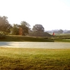 A view of the 9th green at Willow Wood Golf Club