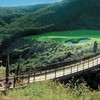 A view over the bridge of a green from The Bridges At Rancho Santa Fe