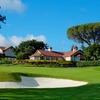 A view of the clubhouse at Peninsula Golf & Country Club