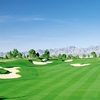 A view of a fairway at Lakes Course from Primm Valley Golf Club