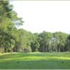 A view from a tee at Carolina Shores Golf Club