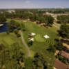 Aerial view of the 3rd green at Pinehills Course from Myrtlewood Golf Club