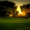A sunrise view of green at Dobson Ranch Golf Course