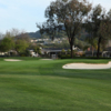 A view of the 15th green at Almaden Golf & Country Club