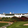 A view of the clubhouse at Balboa Park Golf Club