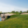 A view of the 16th hole at Westridge Golf Club