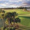 A view of a green at Venetian Golf & River Club