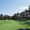 A view of fairway #7 at Possum Trot Golf Club
