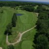 Aerial view of hole #17 at Cape Neddick Country Club