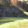 A view of the 4th green at Greywalls Course from Marquette Golf Club