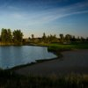 A view of fairway #2 at Peaks Golf Course from Boulder Pointe Golf Club