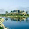 A view of the clubhouse at Eagle Creek Golf Club
