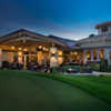 Bay Hill: View from the putting green