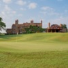 A view of the clubhouse at Hawk's Creek Golf Club