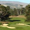 A view of green #8 at San Francisco Golf Club (GolfClubAtlas)
