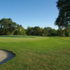 A view of a green at Vineyard Knolls Golf Club